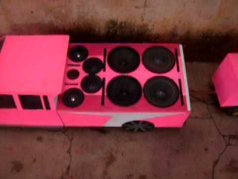 mini f250 putona rosa