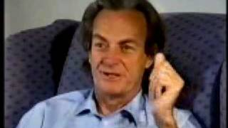 Richard Feynman Explains Rubber Bands