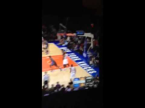 Imam Shumpert Crazy Dunk New York Knicks