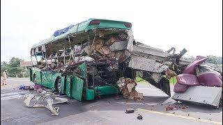 Tai nạn thảm khốc ở Bình Định, 5 người chết, 6 người bị thương