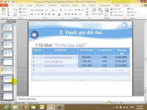 Chiến lược SEO hiệu quả - Bài 1