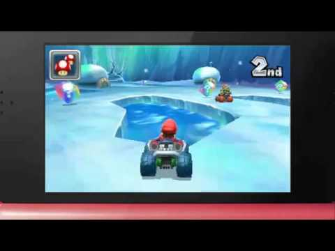 Mario Kart 7 Trailer at Nintendo 3DS Conference 2011