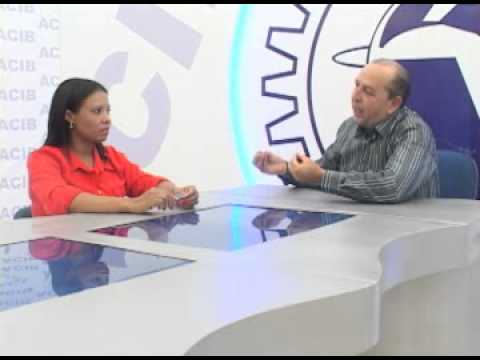 TV ACIB - Luciana Costa -  Vice prefeita