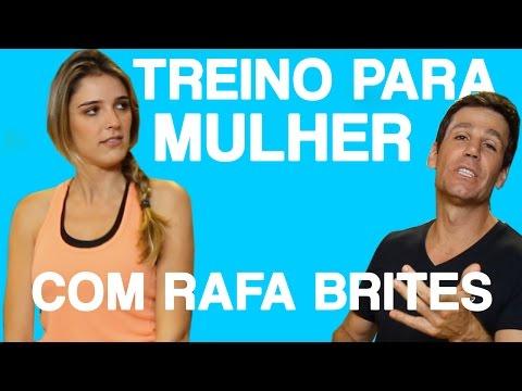 TREINO ESPECIAL PARA MULHERES - DESAFIO RAFA BRITTES