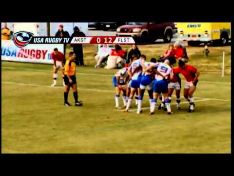 2013 USA Rugby College 7s National Championship: Arkansas vs. Florida State