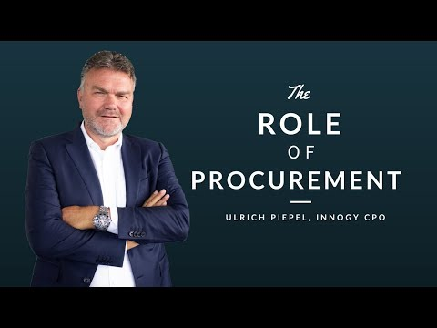Innogy CPO on the role of Procurement. Ulrich Piepel