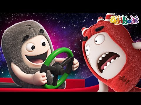 Oddbods | High In Space | Funny Cartoons For Kids
