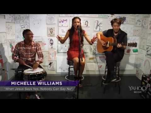 "Michelle Williams - ""Say Yes"" (Live Acoustic: Yahoo! Music)"