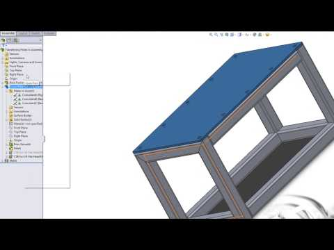 SolidWorks How To Transfer Hole Location to Different Part in Assembly