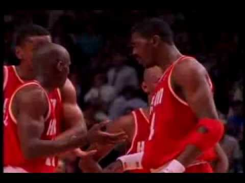 The 1993 1994 Houston Rockets Championship Season