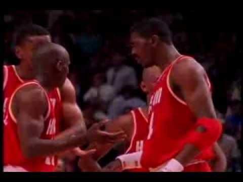 The 1993 1994 Houston Rockets Championship Season