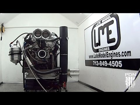 881hp 502ci LS motor