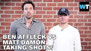 Ben Affleck and Matt Damon Insult Each Other | What's Trending Now