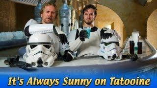 It's Always Sunny on Tatooine: Star Wars vs It's Always Sunny in Philadelphia