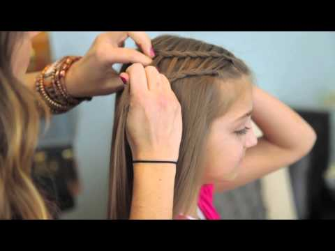Feather,  Waterfall - Ladder // Braid Combo   ( Cute 3 in 1 Hairsty )