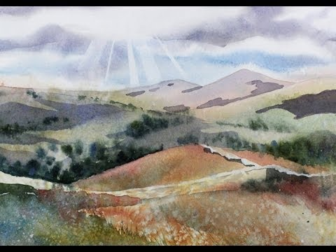 Painting a Summer Landscape in Watercolor with Susan Avis Murphy, AWS