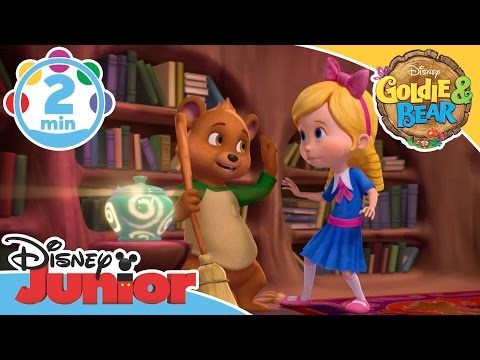 Goldie and Bear | Chores Song | Disney Junior UK