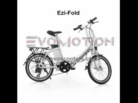 Ezi-Fold EVO electric bike | By EvoMotion