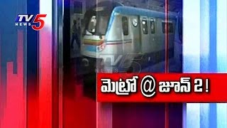 TRS govt plans to begin metro rail from June 2