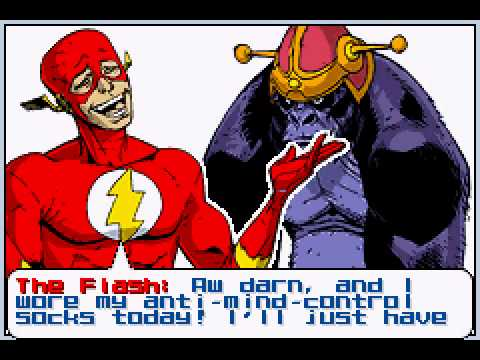 Justice League Heroes - The Flash - Justice League Heroes - The Flash First 2 Levels Playthrough (GBA) - Vizzed.com - User video