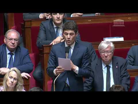 M. Aurélien Pradié- Politique du handicap