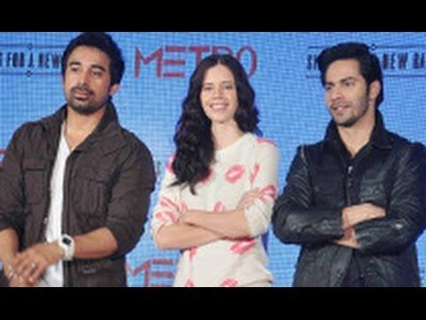 Varun, Kalki at Metro Shoes Campaign Launch   Ranvijay Singh, Shoes