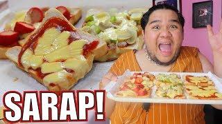 Gagawa tayo ng NO BAKE PIZZA (TASTY BREAD lang bes!)   Lutobaninat #6