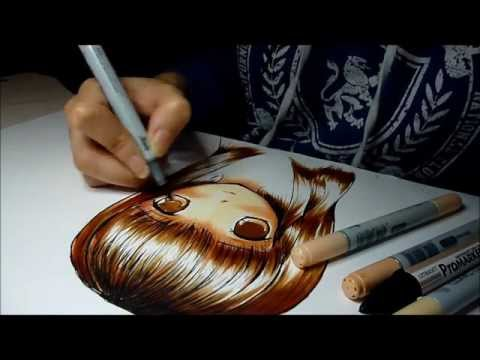 Drawing Haruhi Fujioka from Ouran Highschool Host Club with Copics, remember to watch in HD! ***** thanks for watching!(: Music: Kagamine Len *DISCLAIMER* I do not own the music. links: Deviant Art: http://naftie.deviantart.com/