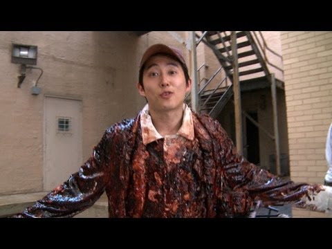 Hanging With Steven Yeun: Inside The Walking Dead