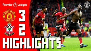 Highlights | Manchester United 3-2 Southampton | Romelu to the rescue!
