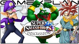 Super Smash Bros Fighter Ballot Top 5 Picks Discussion