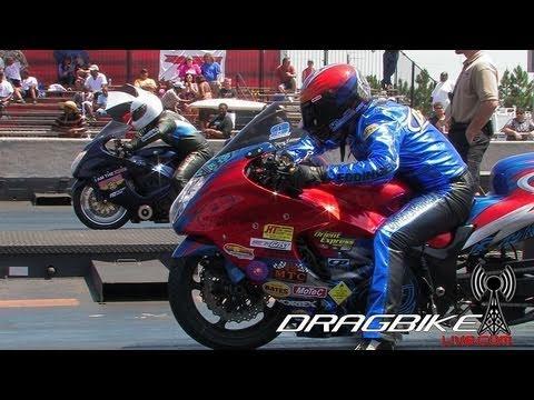 Pro Street 200mph No Wheelie Bar Drag Bikes!