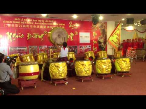 Khai Quang Đoàn Nghệ Thuật Lân Sư Rồng Nhơn Nghĩa Đường 2013