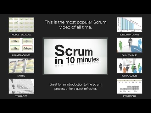 NEW Intro to Scrum in Under 10 Minutes - HD Video!