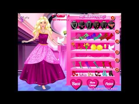 Barbie Games - Barbie Dress Up Games - Barbie Makeover Dress Up Games