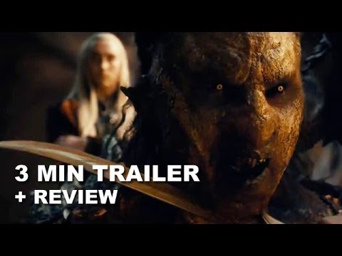 The Hobbit The Desolation of Smaug 3 Minute Trailer + Trailer Review : HD PLUS