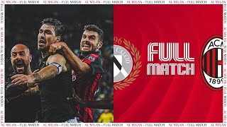 Full Match | Udinese 0-1 AC Milan | Serie A TIM 2018/19