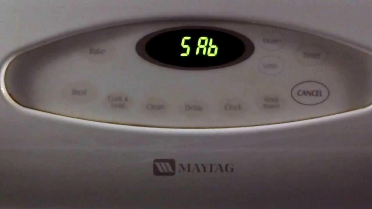 resetting whirlpool washing machine
