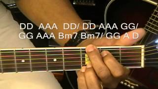 One Direction One Thing Mini Guitar Cover/Lesson How To