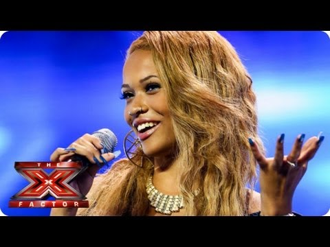 Tamera Foster sings I Have Nothing by Whitney Houston - Auditions Week 1 -- The X Factor 2013