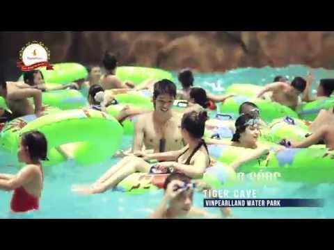 Công viên nước trong nhà lớn nhất Đông Nam Á - Vinpealland Water Park, Vincom Mega Mall Royal City