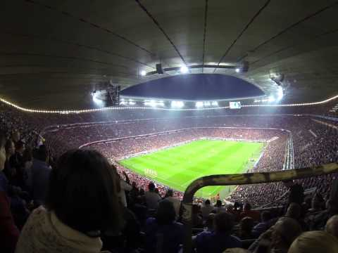 2014 Champions League Semi Final(Real Madrid vs Bayern Munchen)/Allianz Arena