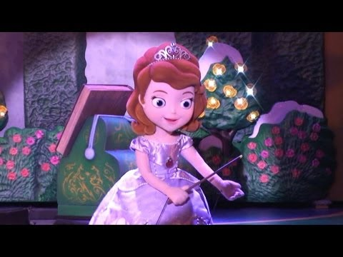 Sofia The First - New Segment - Disney Junior Live on Stage, Disney's Hollywood Studios Disney World