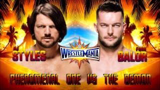 WWE Wrestlemania 33 Match card (DREAM)