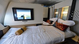 Complete Etihad First Class Apartment Experience Onboard