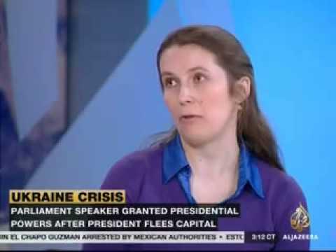 Fordham's Olena Nikolayenko on Ukraine unrest on Al Jazeera America