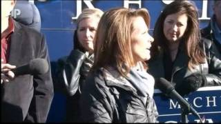 Bachmann: Tough Talk on Iran after Missile Test