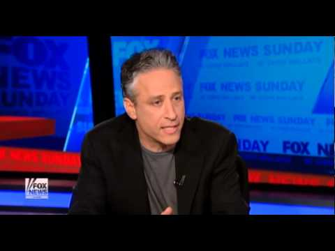 Jon Stewart Vs  Chris Wallace On Fox Bias unabridged