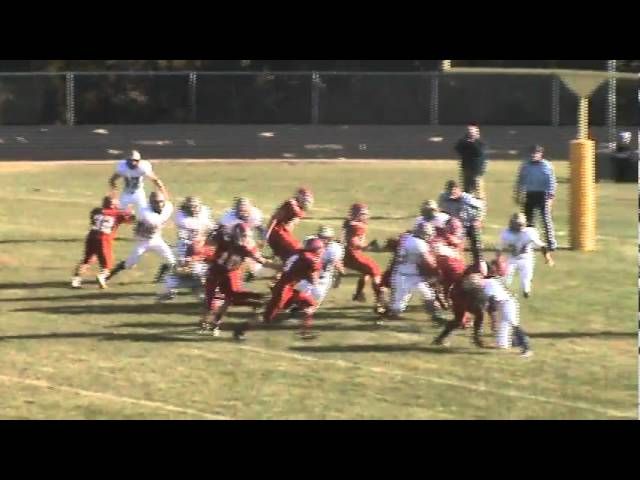 11-19-11 - Kyle Rosenbrock scores from 1 yard out (Brush 13, Olathe 0)