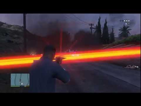 GTA 5: Laser Weapon Mods By GrizzlyModz